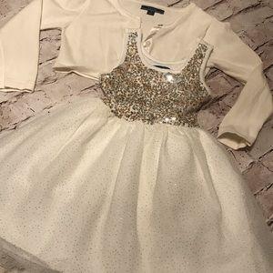 Children's Place Girls Dress Size 4 EUC